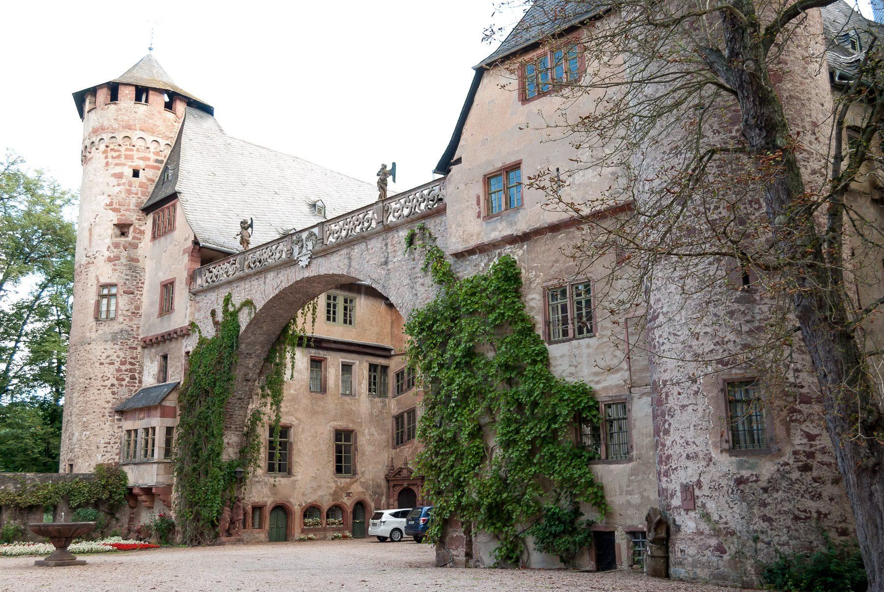 Denkmalschutz Schloss