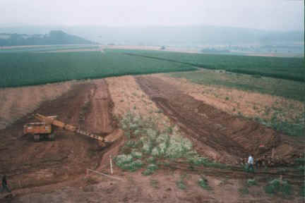 Rekonstruktion Fürstengrab